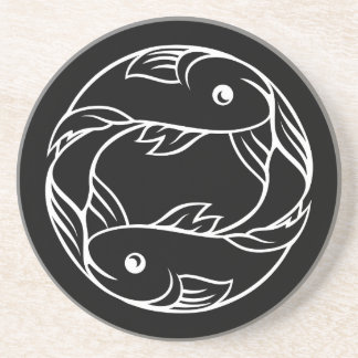 Pisces Fish Zodiac Astrology Sign Coaster