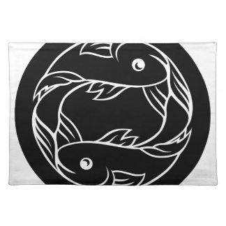 Pisces Fish Zodiac Astrology Sign Placemat