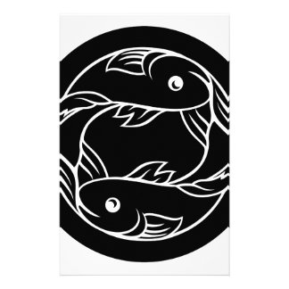 Pisces Fish Zodiac Astrology Sign Stationery