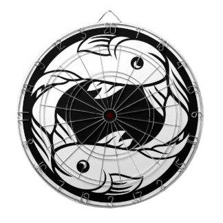Pisces Fish Zodiac Horoscope Astrology Sign Dartboard