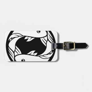 Pisces Fish Zodiac Horoscope Astrology Sign Luggage Tag