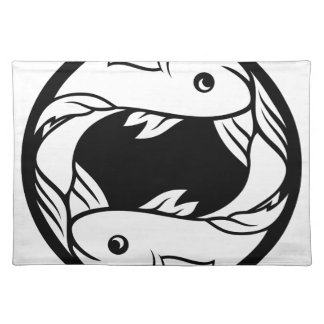 Pisces Fish Zodiac Horoscope Astrology Sign Placemat