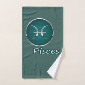 Pisces -- Hand Towel