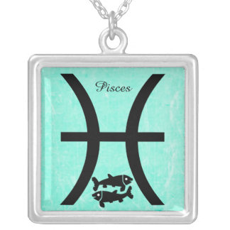 Pisces Horoscope Zodiac Astrological Necklace