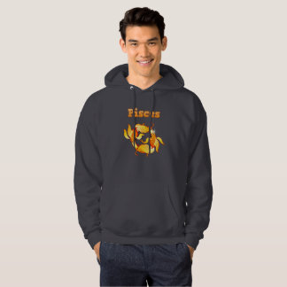 Pisces illustration hoodie