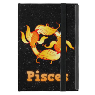 Pisces illustration iPad mini case