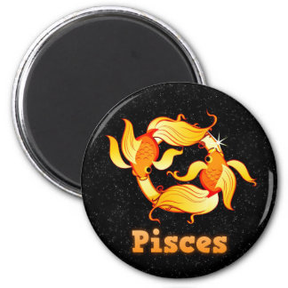 Pisces illustration magnet