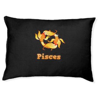 Pisces illustration pet bed