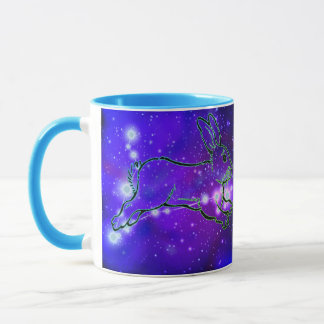 Pisces in the year of the Rabbit Mug