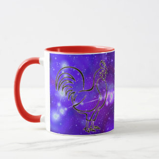 Pisces in the year of the Rooster Mug