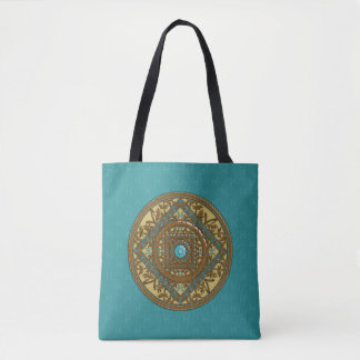 Pisces Mandala All-Over-Print Bag