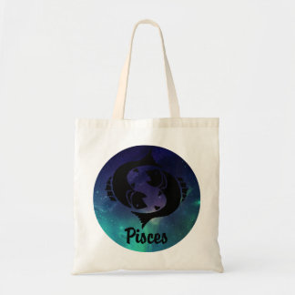 Pisces On Space Background