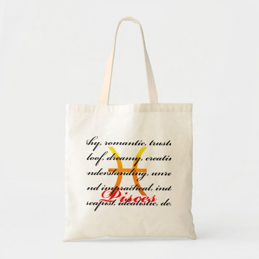 Pisces Personality Bags