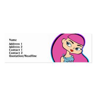 Pisces Profile Card Mini Business Card