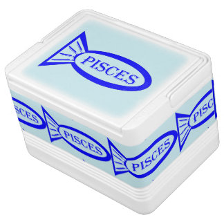 Pisces Star Sign Fish Can Cooler