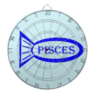 Pisces Star Sign Fish Dart Board