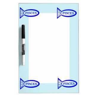 Pisces Star Sign Fish Memo Board