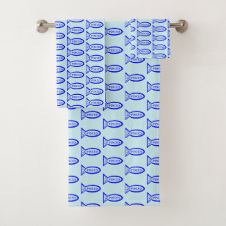 Pisces Star Sign Fish Patterned Towels