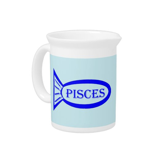 Pisces Star Sign Fish Pitcher