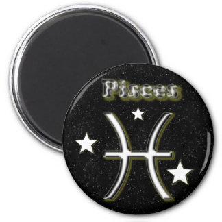 Pisces symbol magnet