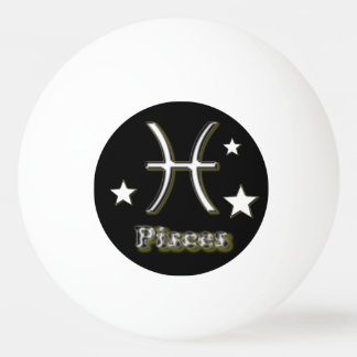 Pisces symbol ping pong ball