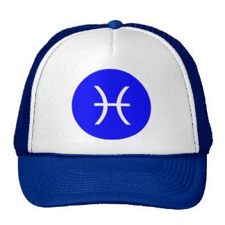 Pisces Symbol Trucker Hat