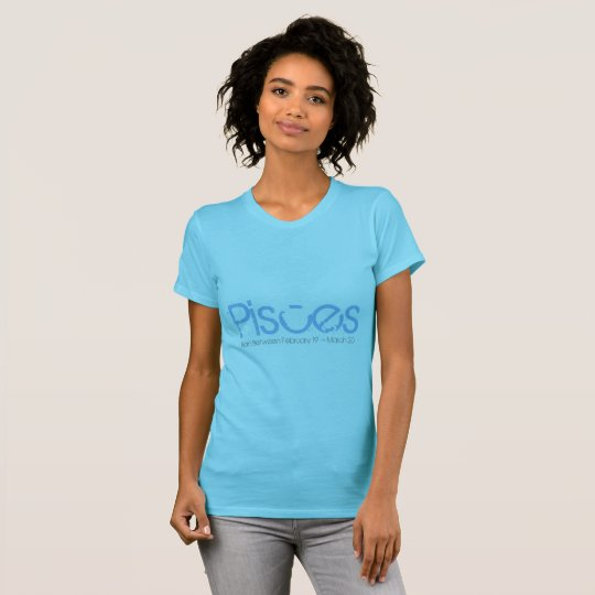 Pisces Tee-shirt Born In March T-Shirt