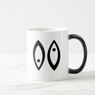 Pisces template coffee mugs