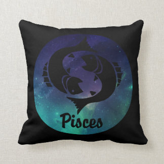 Pisces the Fish Throw Pillow