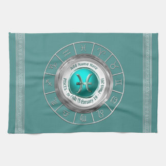 Pisces - The Fish Zodiac Sign Kitchen Towel
