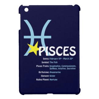 Pisces Traits Dark iPad Case