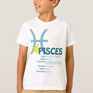 Pisces Traits Kids T-Shirt