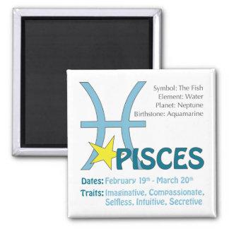 Pisces Traits Magnet