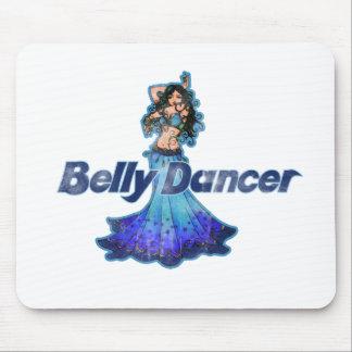 Pisces Vintage Belly Dancer Mouse Pad
