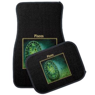 Pisces Zodiac Astrology design Car Mat