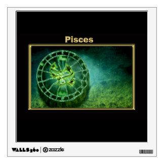 Pisces Zodiac Astrology design Wall Decal