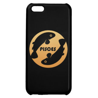 Pisces Zodiac Sign Cover For iPhone 5C