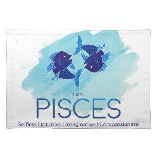 Pisces zodiac sign placemat