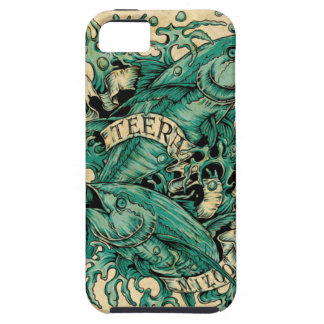 Pisces Zodiac Tattoo Style (by Teeramizoo) iPhone 5 Case