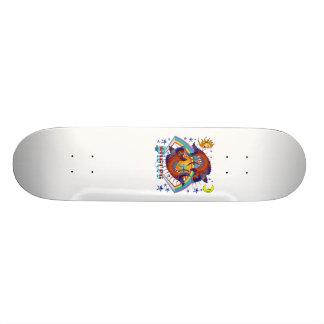 Pisces-Zodiac-V-1 Skateboard