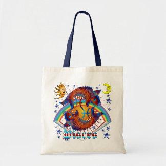 Pisces-Zodiac-V-1 Tote Bag