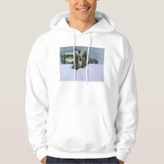 Piscines du défi 2001 sweatshirt à capuche