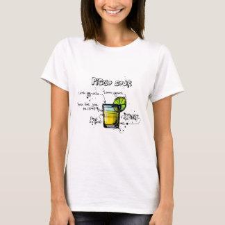 Pisco Sour Cocktail Recipe T-Shirt