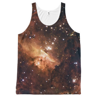 Pismis 24 brown stars NASA All-Over-Print Tank Top