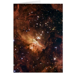 Pismis 24 brown stars NASA Card
