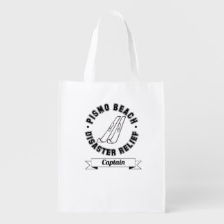 Pismo Beach Disaster Relief Captain Reusable Bag