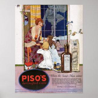 Piso's Cough Medicine (1921) Poster