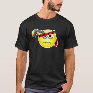 pissed off smiley T - Shirt - Russian Roulette Smi