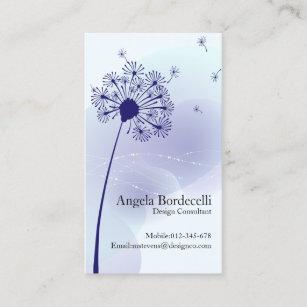 Pissenlit Doux De Carte Visite Floral