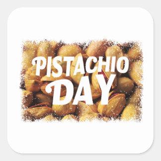 Pistachio Day - Appreciation Day Square Sticker